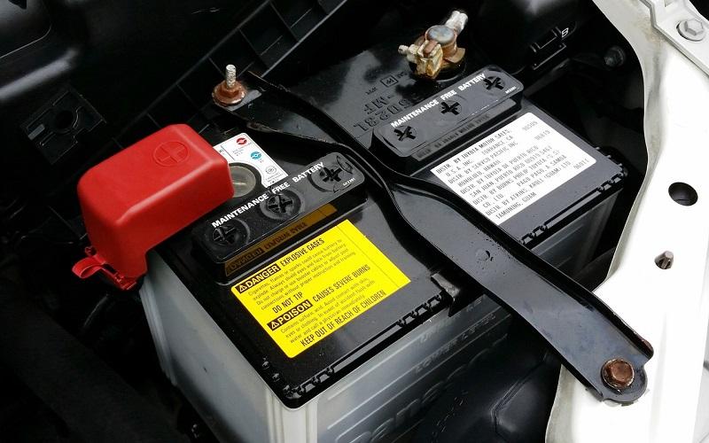 Autó akkumulátorának